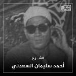 أحمد سليمان السعدني